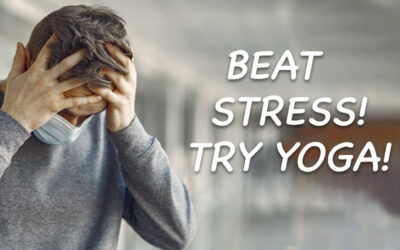 Beat the Stress! Try Yoga!